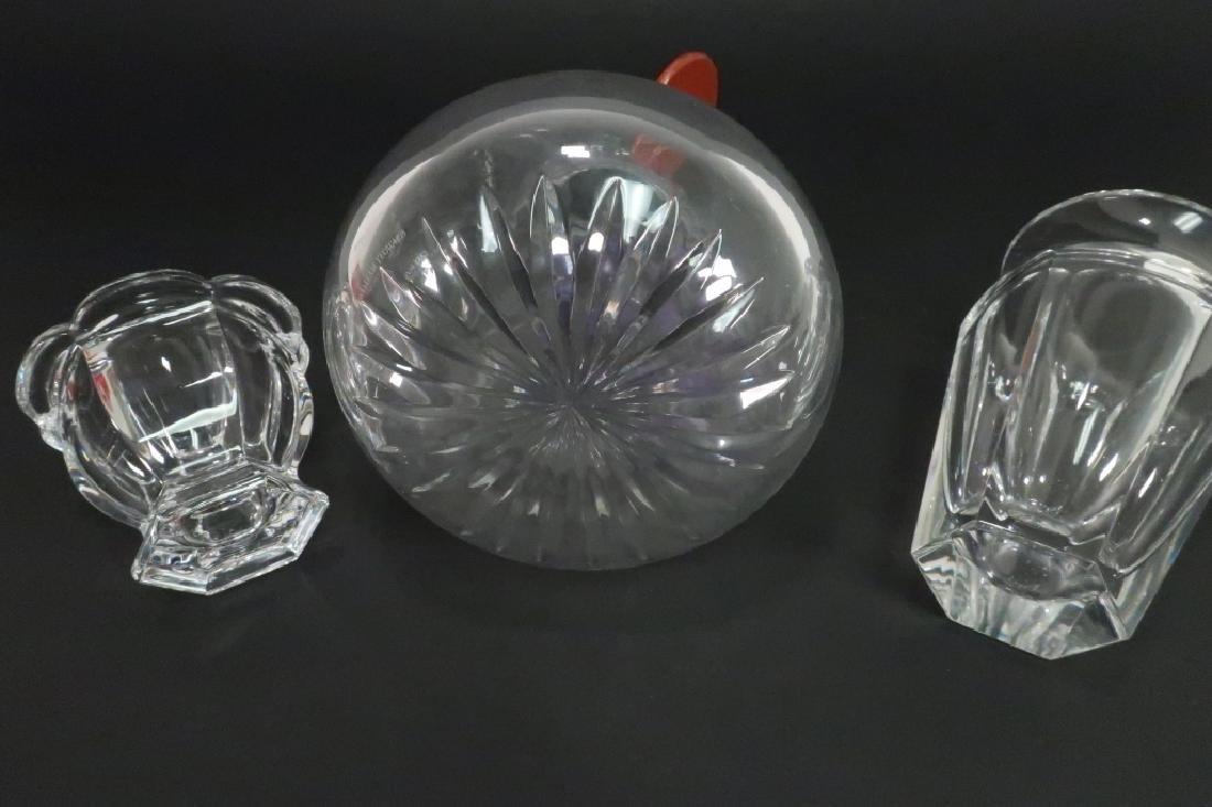 William Yeoward & Baccarat Crystal Pieces - 7