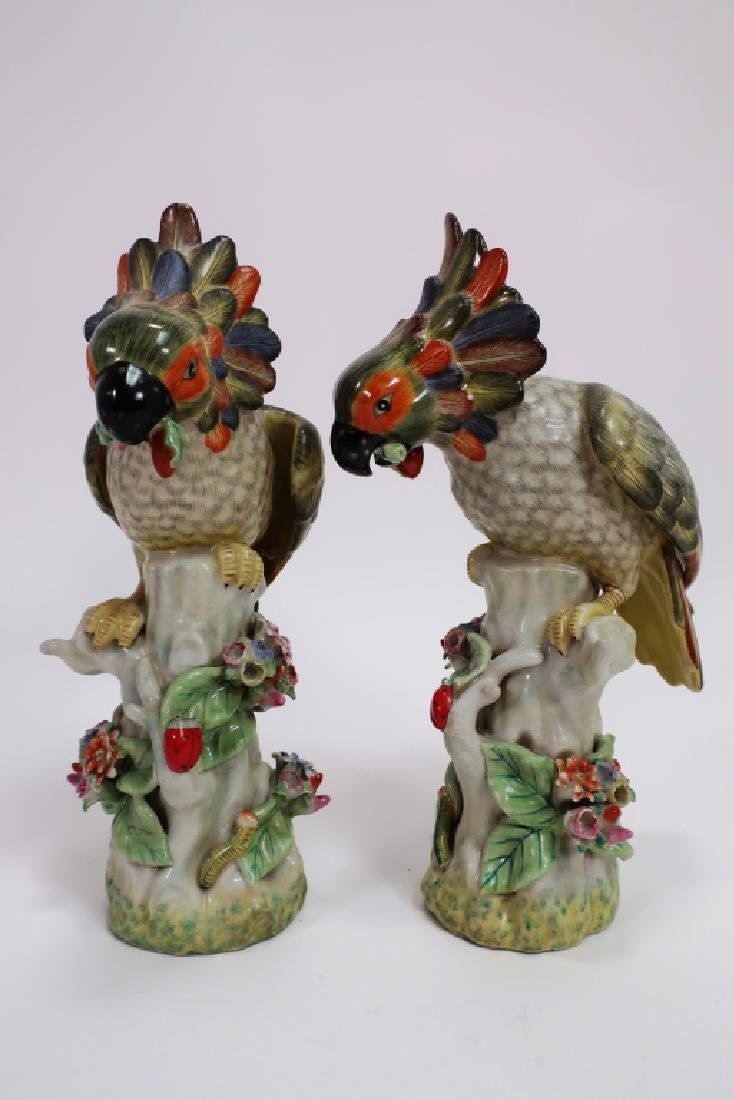 Lot of 5 Porcelain Tropical Birds - 5