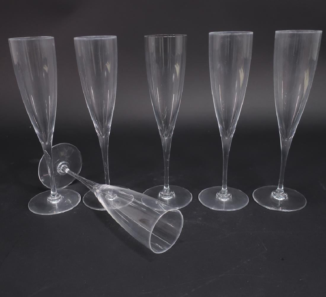 14 Crystal Items: Steuben Snifters Baccarat Kosta - 5