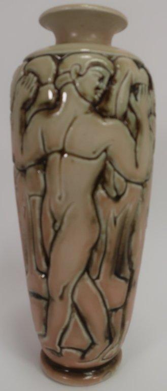 Gres Mougin Nancy Art Deco Vase, c. 1930 - 2