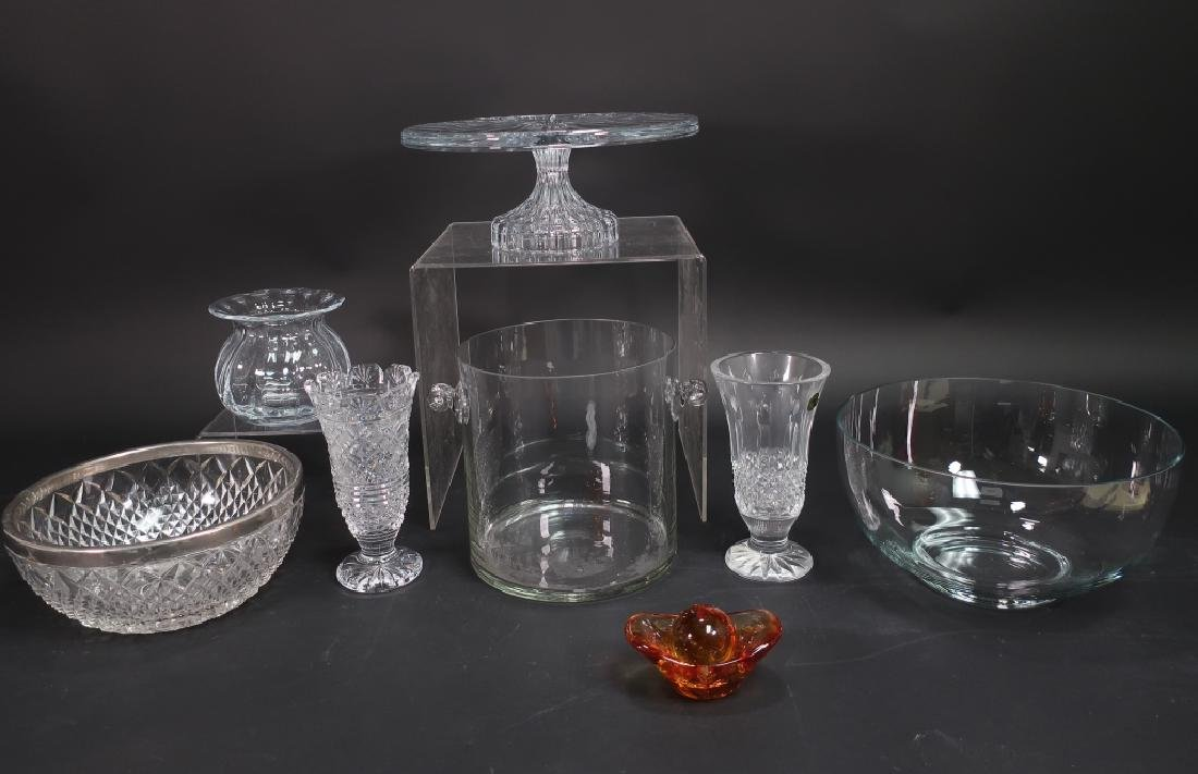 Lot of Crystal/Glassware Tiffany, Waterford,others