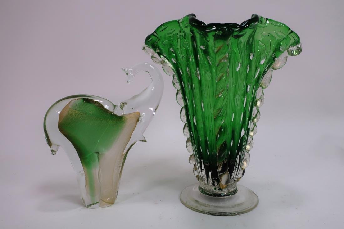 Lot of 9 Decorative Glass Items, incl. Kosta Boda - 2