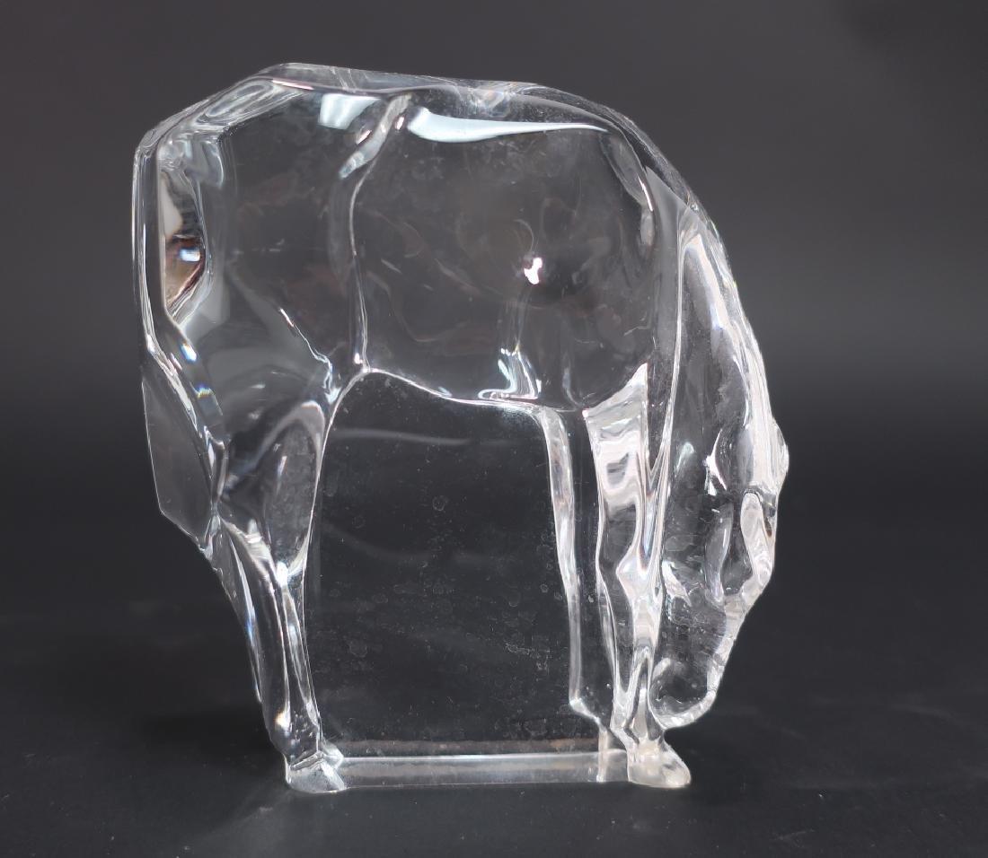 Lot of 9 Decorative Glass Items, incl. Kosta Boda - 8