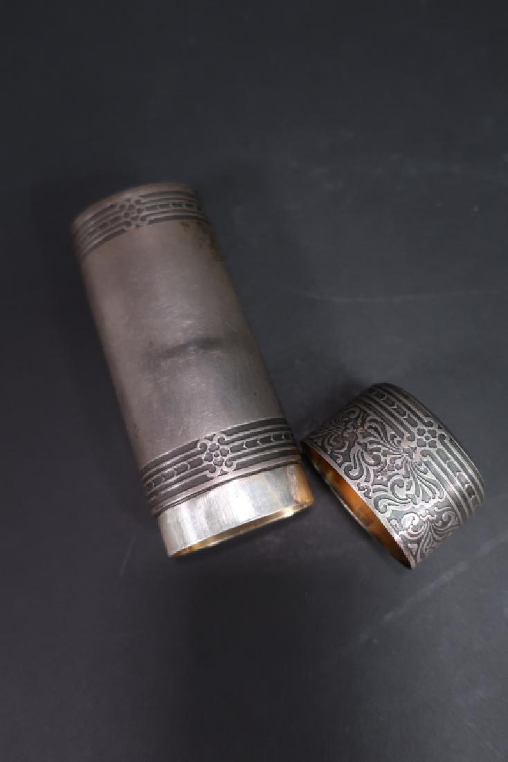 Tiffany & Co. Sterling Silver Necessaire Case - 4