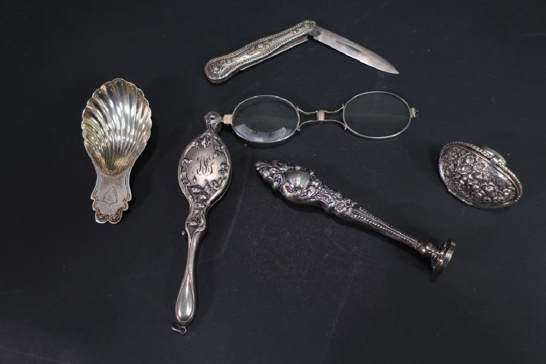 12 Sterling and Silverplate Items - 4