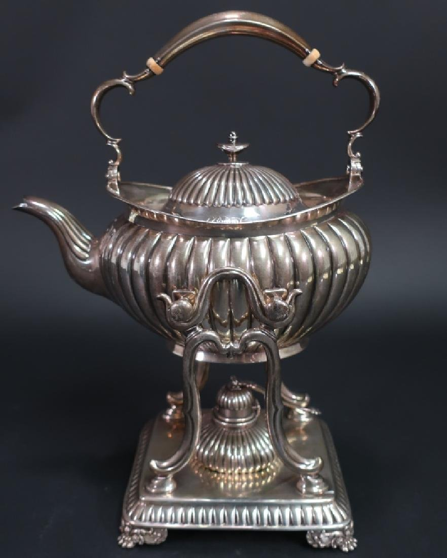 Tiffany & Co Sterling Tea Kettle on Stand