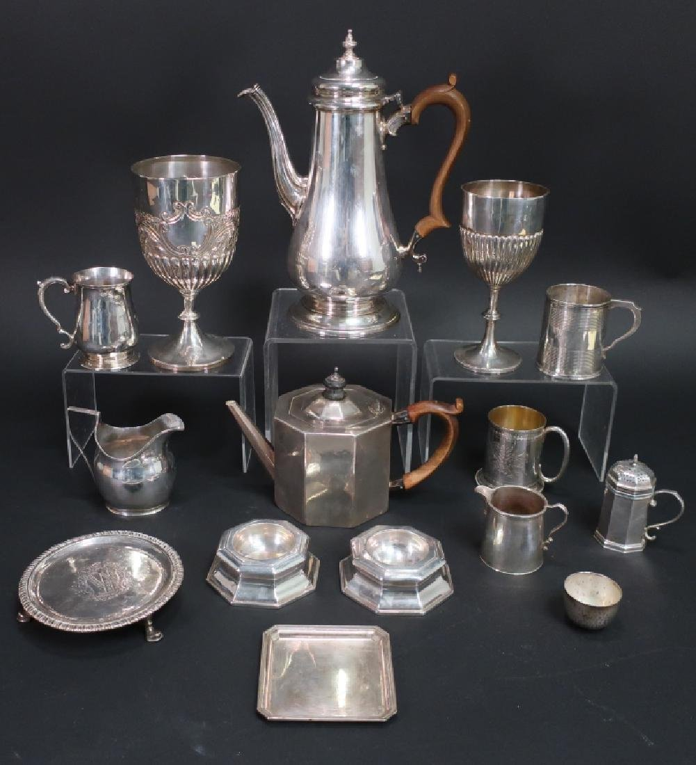 English and American Sterling Silver Items