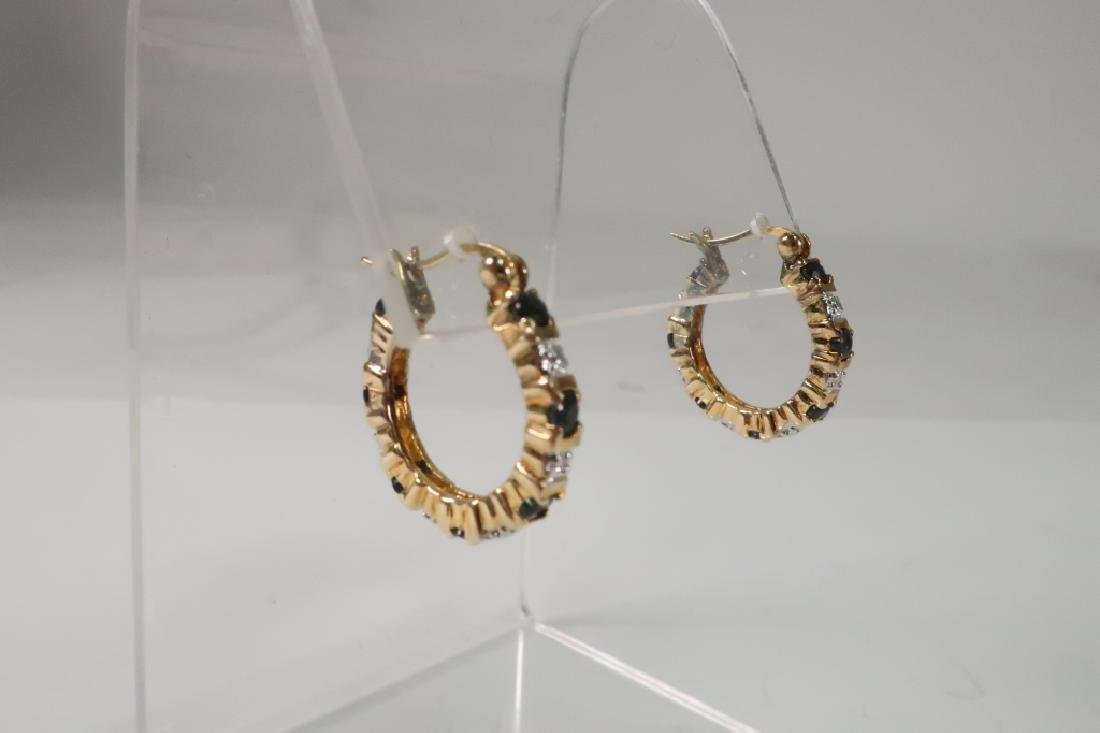 Lot of 10 14 kt Gold Jewelry Vict Locket Cufflinks - 7