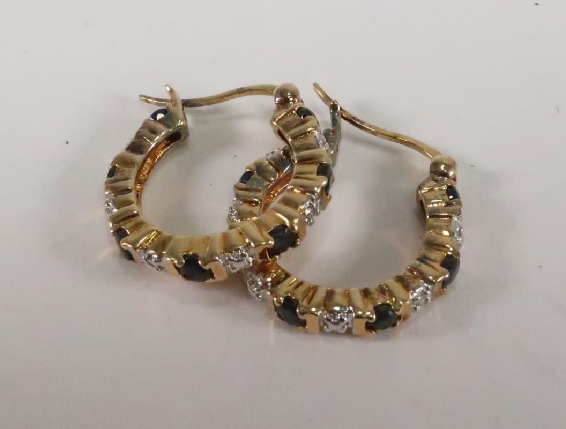 Lot of 10 14 kt Gold Jewelry Vict Locket Cufflinks - 8