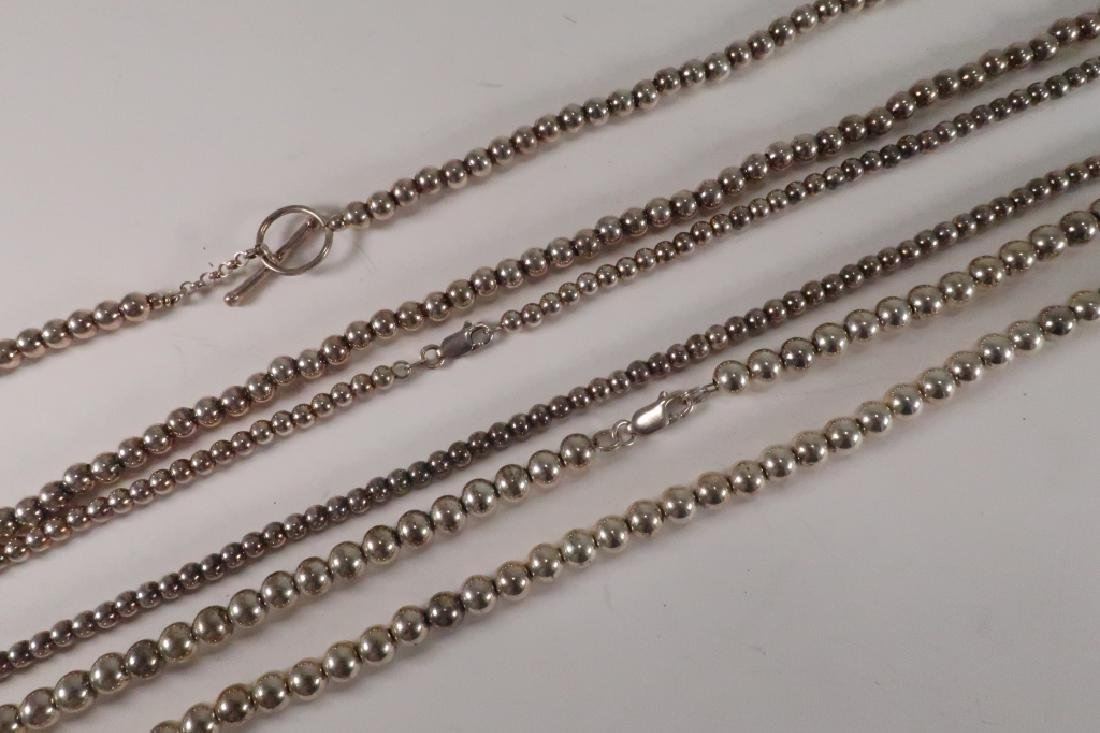 Lot of 7 Sterling Squash Blossom Necklace & others - 5