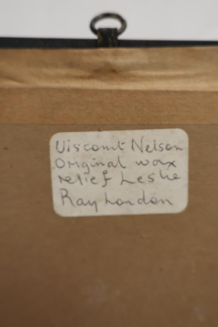 Leslie Ray, UK, Lord Nelson, Wax Relief - 4