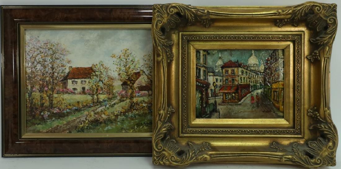 Louis Peyrat, 1911-99, Two Paintings