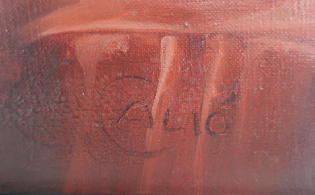 Calio, Italian, 20th c., Recumbent Nude, O/C - 5