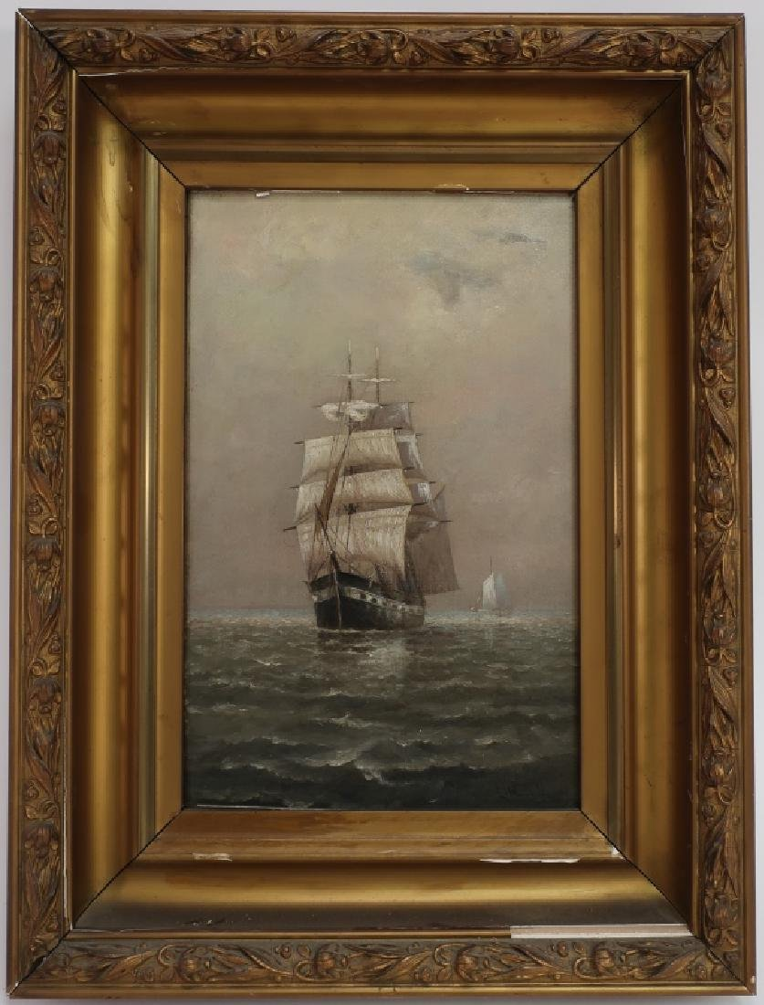 E. F. Lincoln, Am., e. 20th, Square Rigger, O/C