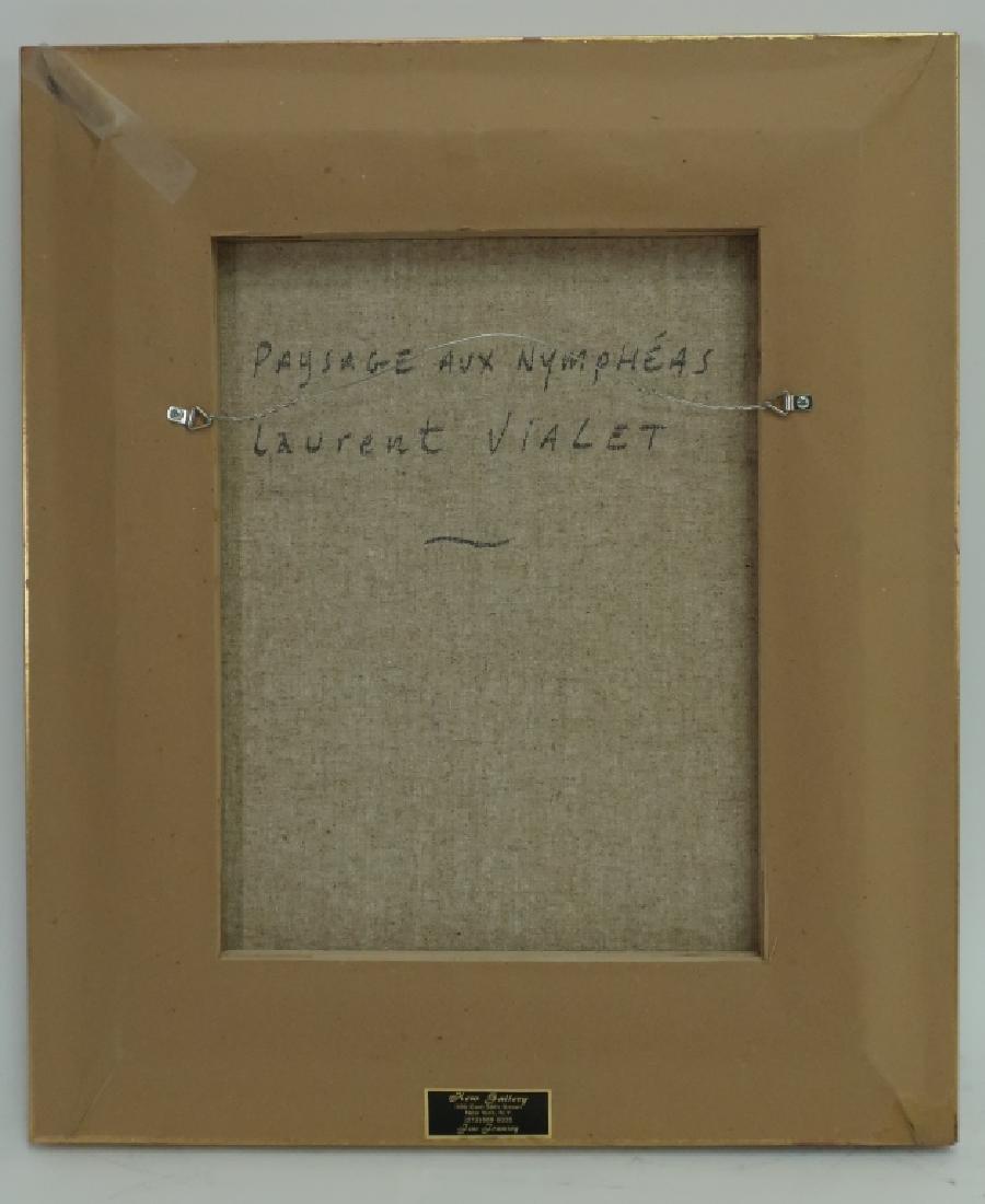 """Laurent Vialet, b. 1967, """"Paysage aux Nympheas"""" - 6"""