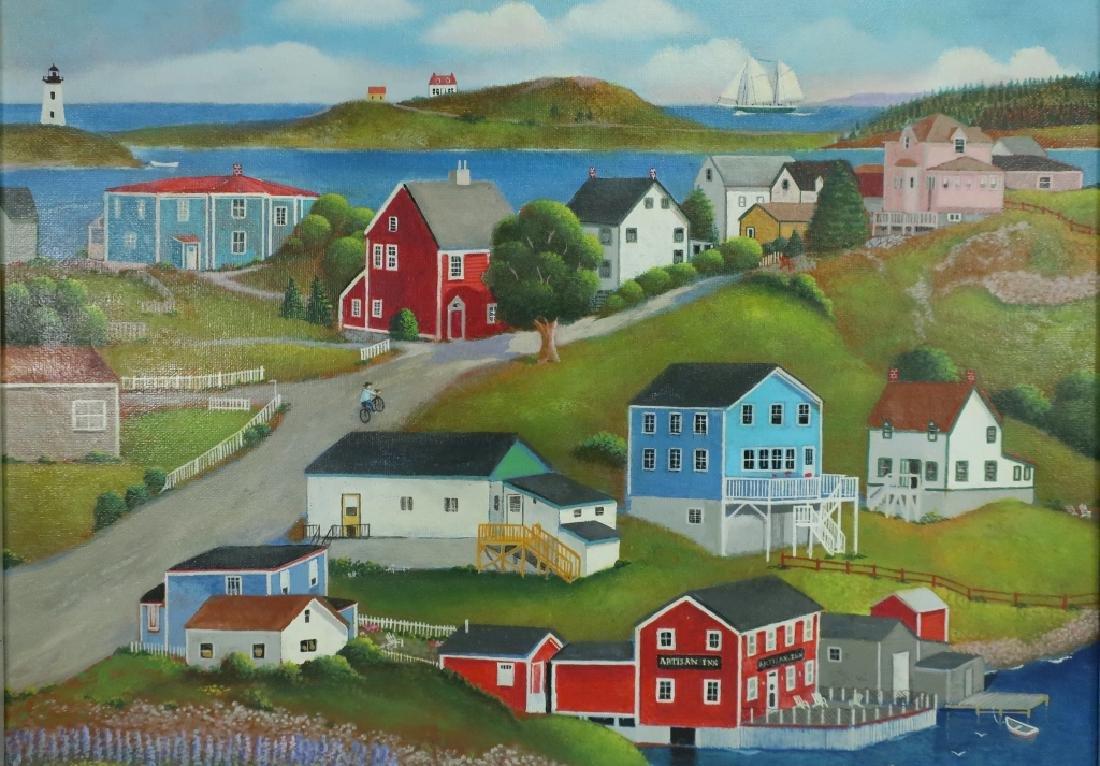 Steven Kelin, 20th C., Two Paintings - 2