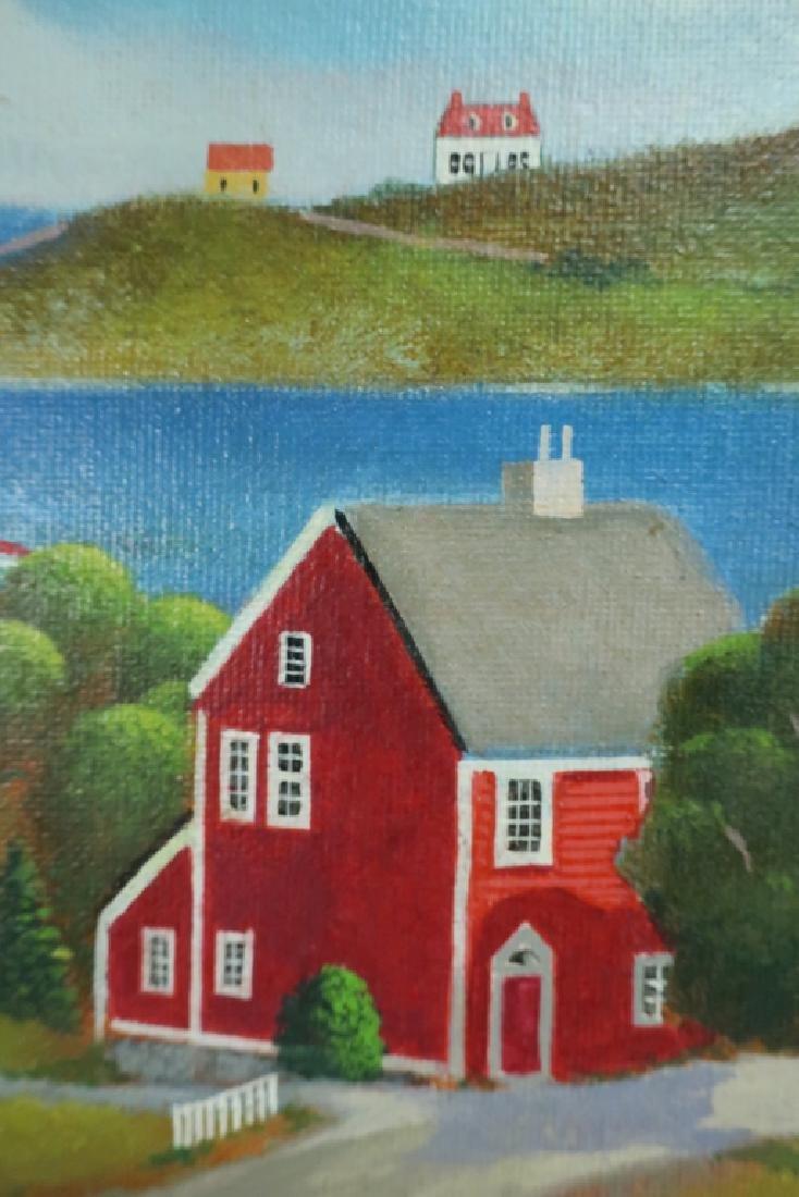 Steven Kelin, 20th C., Two Paintings - 4