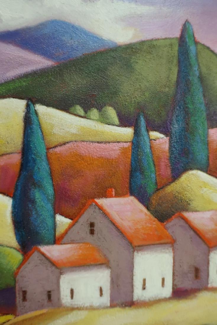 Steven Kelin, 20th C., Two Paintings - 5