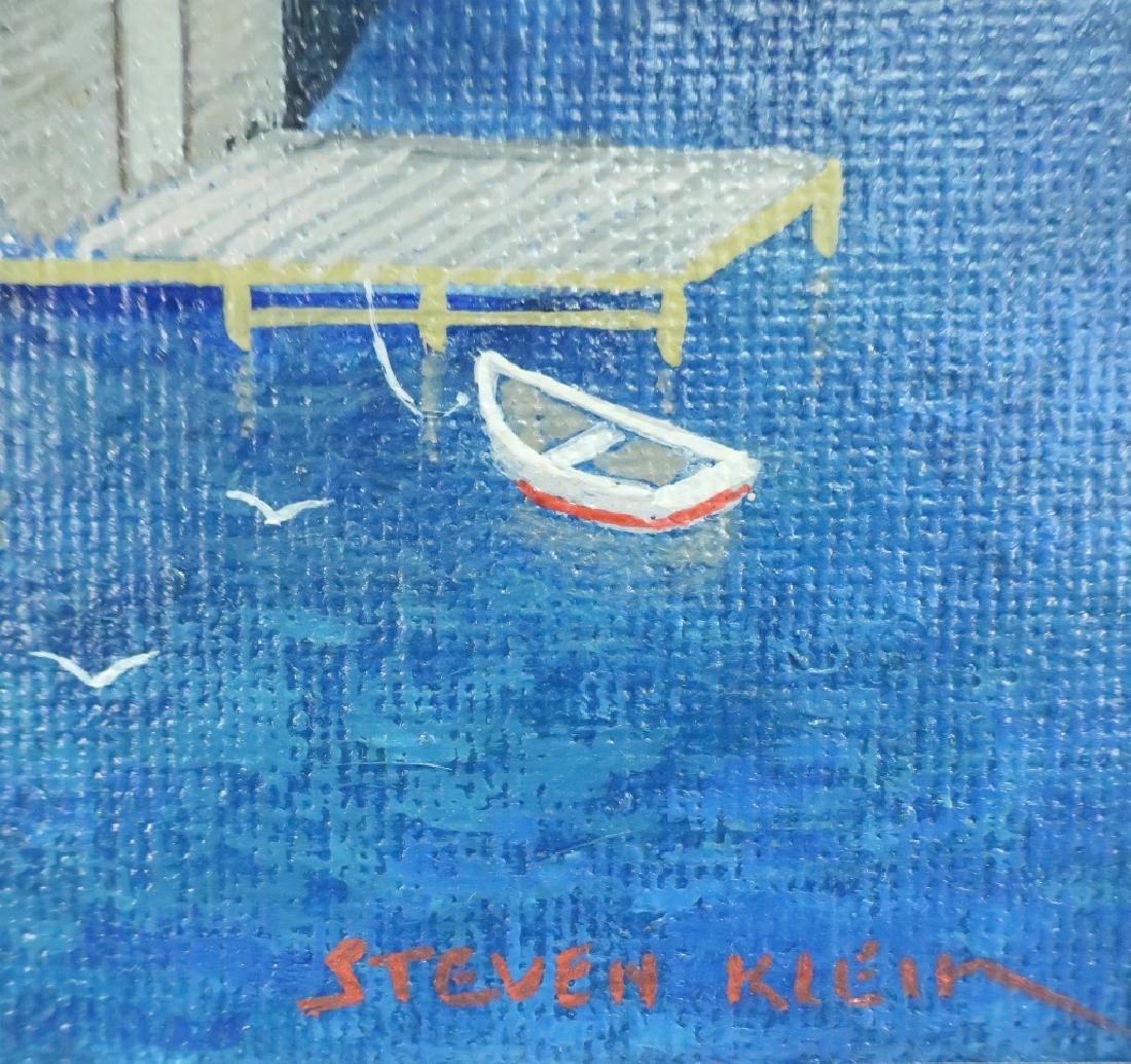Steven Kelin, 20th C., Two Paintings - 7