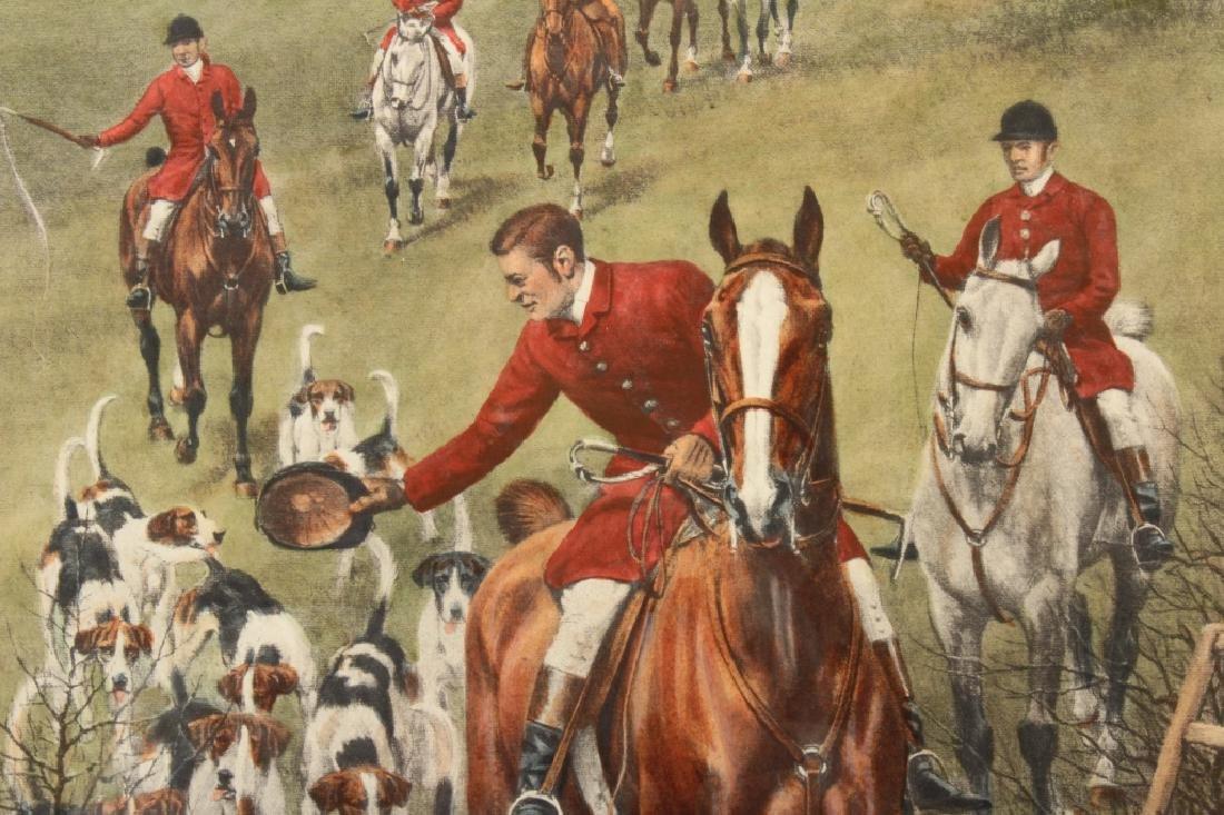E.A.S. Douglas, 2 Equestrian Color Prints - 2