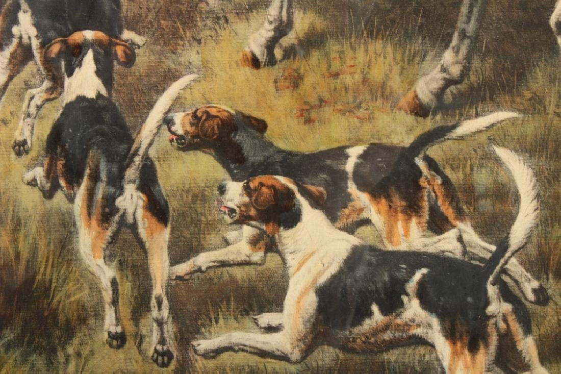 E.A.S. Douglas, 2 Equestrian Color Prints - 5