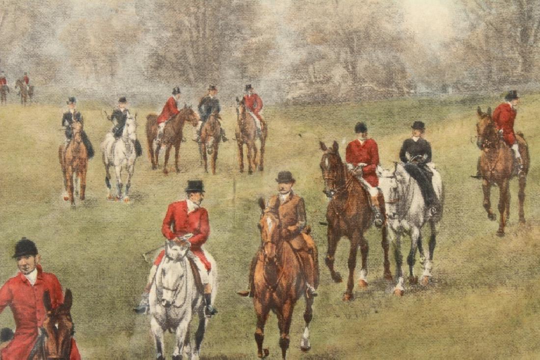 E.A.S. Douglas, 2 Equestrian Color Prints - 6