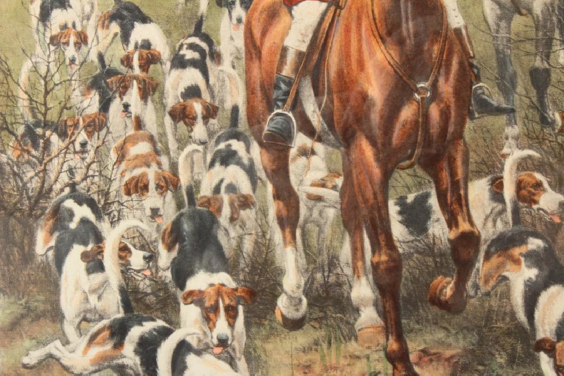 E.A.S. Douglas, 2 Equestrian Color Prints - 7