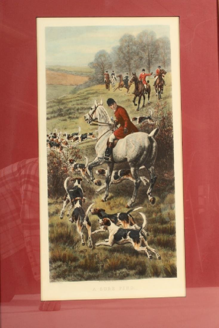 E.A.S. Douglas, 2 Equestrian Color Prints - 9