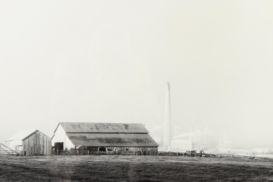 Julian Deloch Artichoke Farm B&W Photograph c.1970