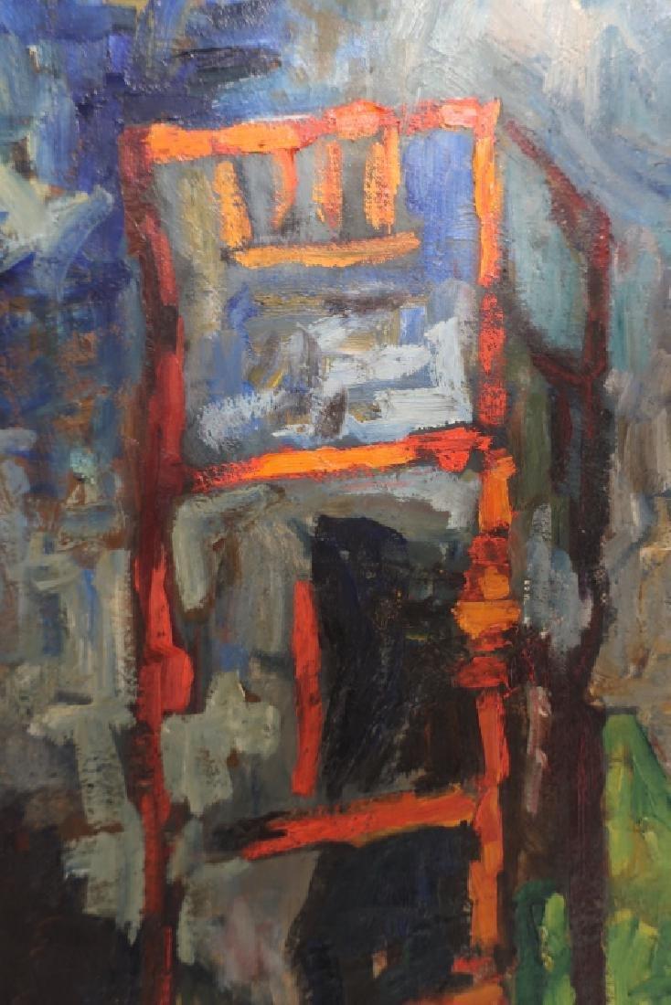 Jean Duncan Cityscape, O/C, 20th c. - 3