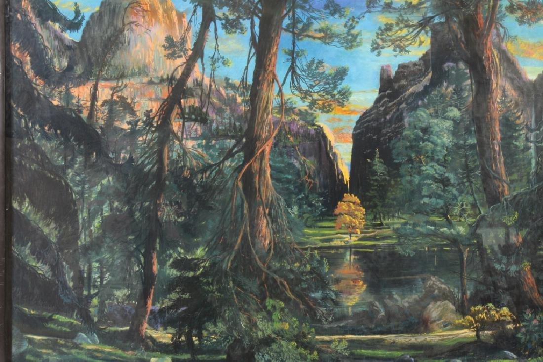Gerard Diaz b 1938 Northern California Pastel 1985 - 2