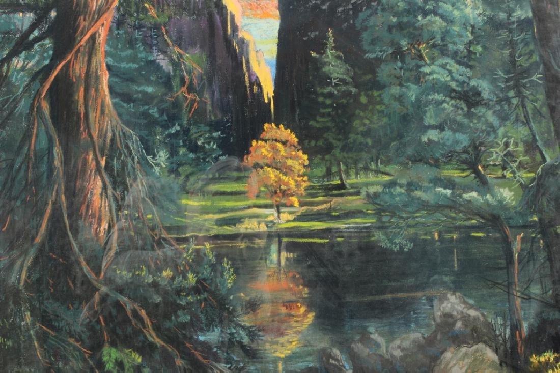 Gerard Diaz b 1938 Northern California Pastel 1985 - 3