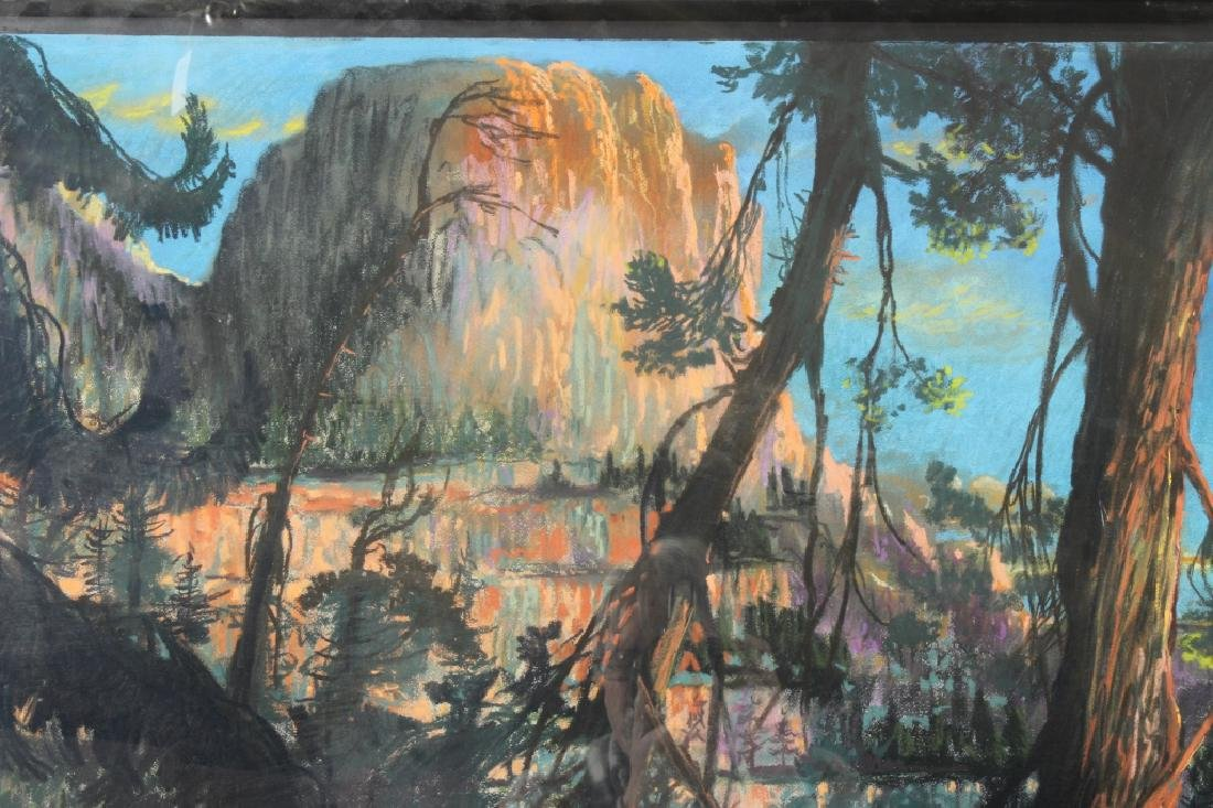 Gerard Diaz b 1938 Northern California Pastel 1985 - 4