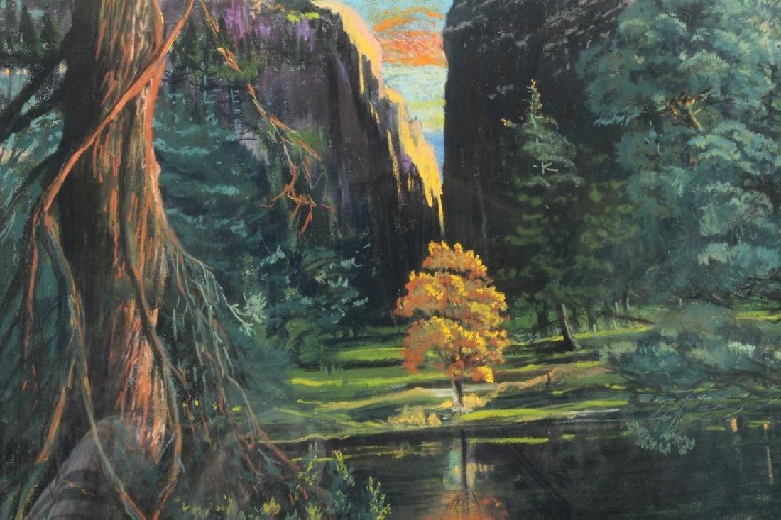Gerard Diaz b 1938 Northern California Pastel 1985 - 5
