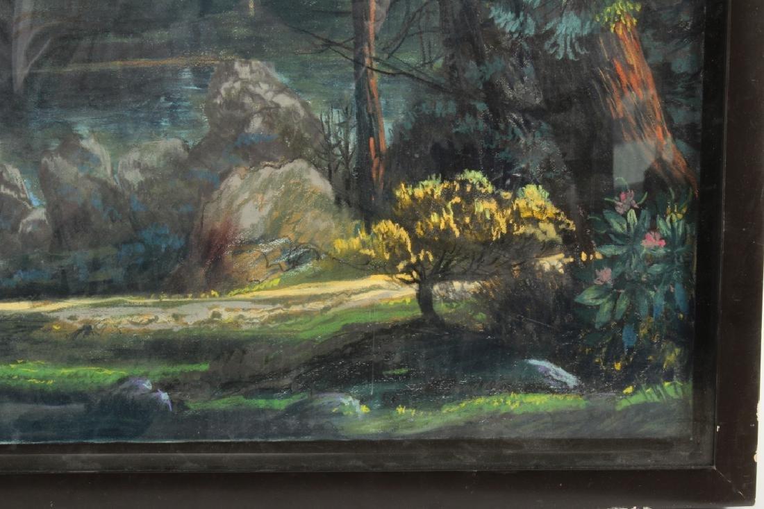 Gerard Diaz b 1938 Northern California Pastel 1985 - 7