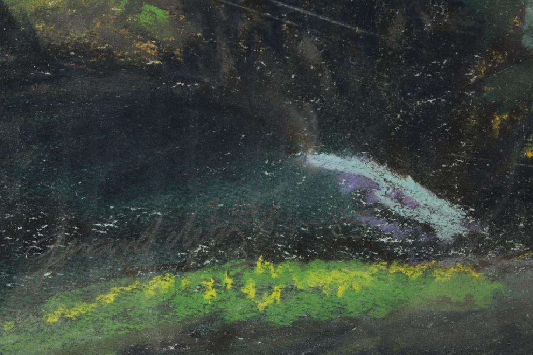 Gerard Diaz b 1938 Northern California Pastel 1985 - 8