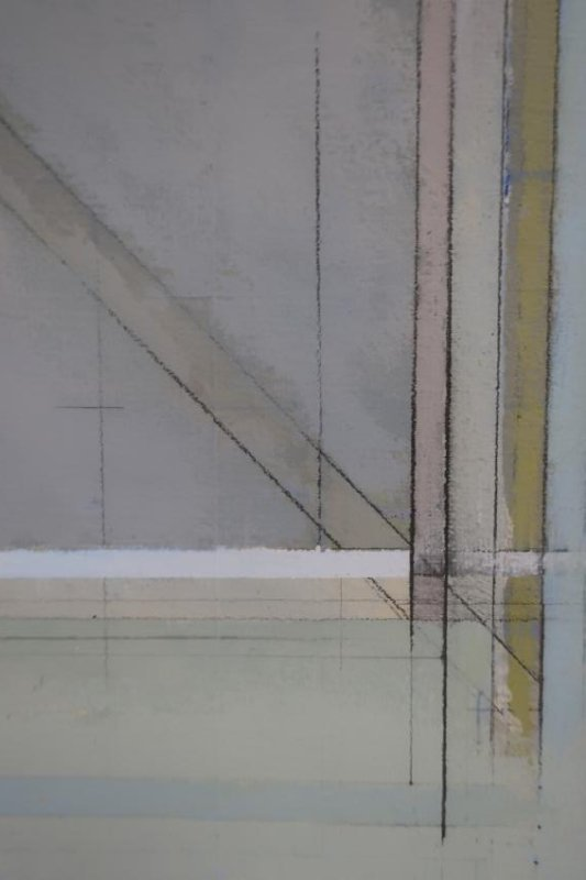 "Joseph Almyda ""Chi Series: 14"" Gouache on Paper - 3"
