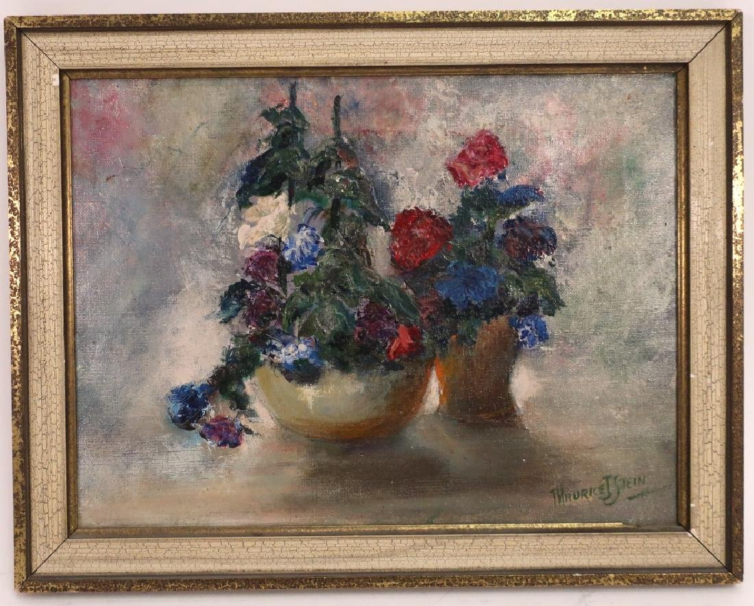 Maurice J. Stein, Am. b. 1898, Bouquets, O/C