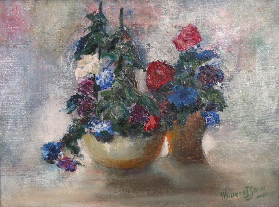 Maurice J. Stein, Am. b. 1898, Bouquets, O/C - 2