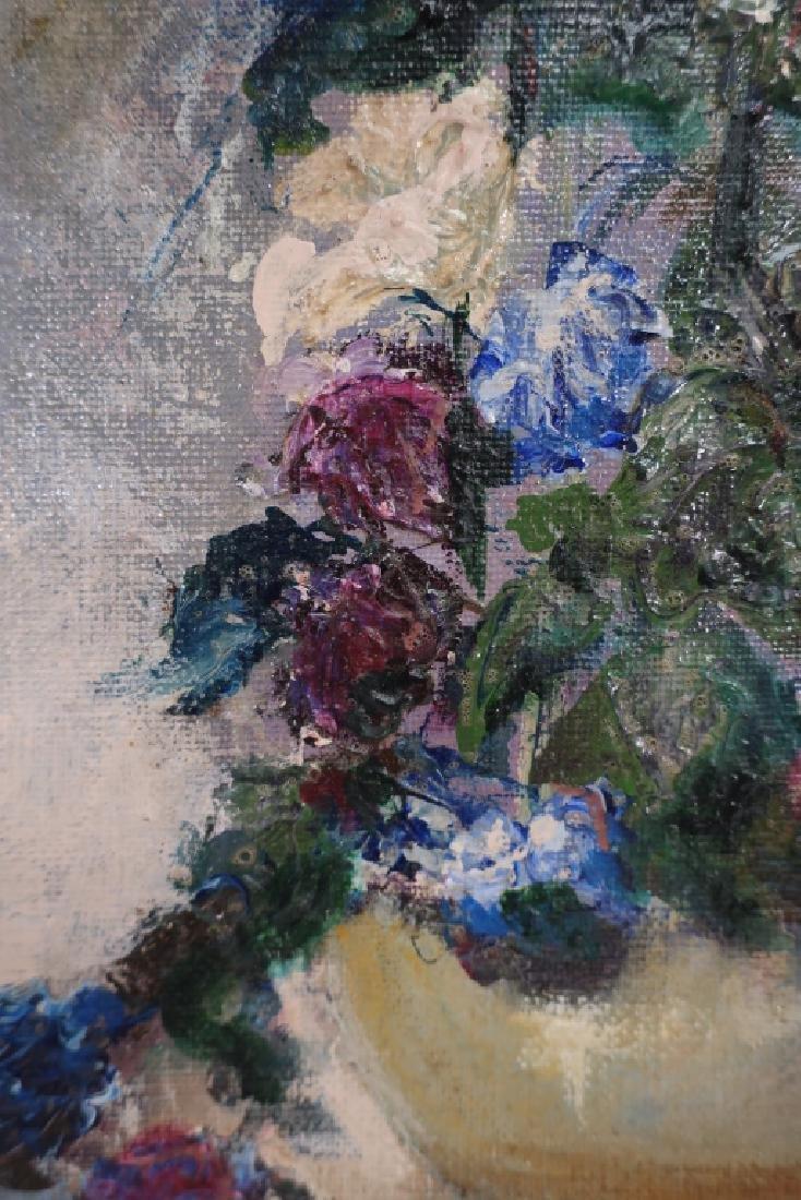 Maurice J. Stein, Am. b. 1898, Bouquets, O/C - 3
