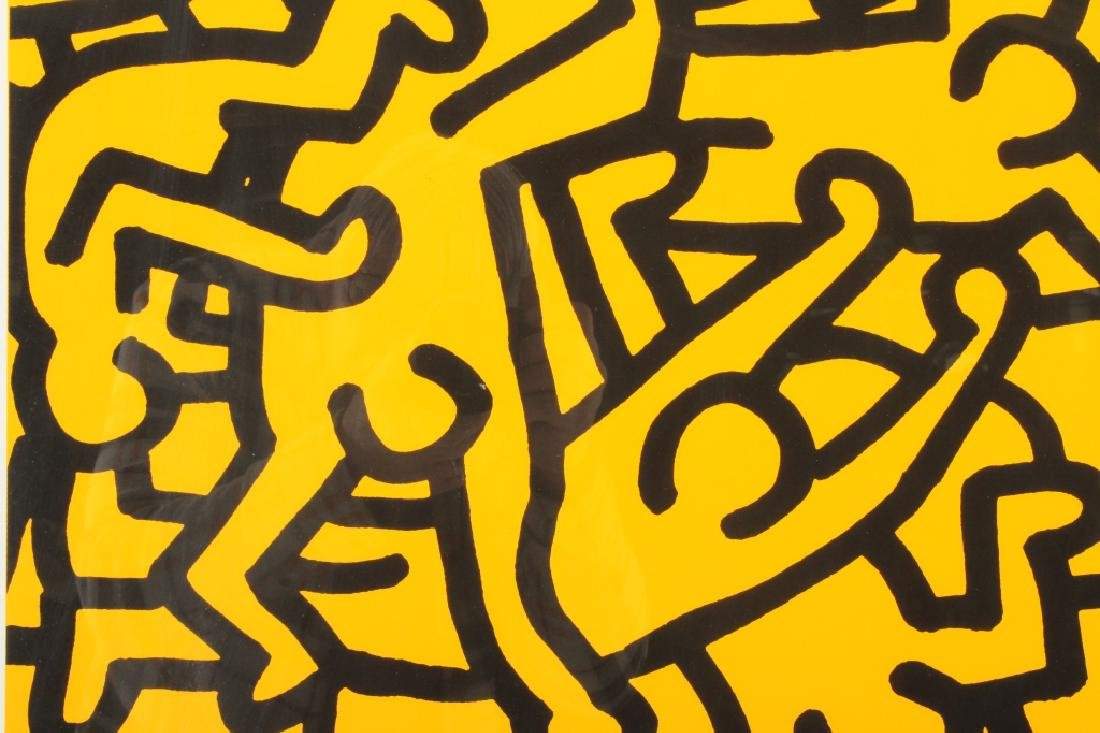 Keith Haring, Playboy, screen print poster - 3