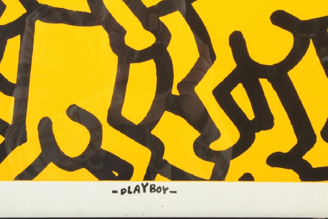Keith Haring, Playboy, screen print poster - 4
