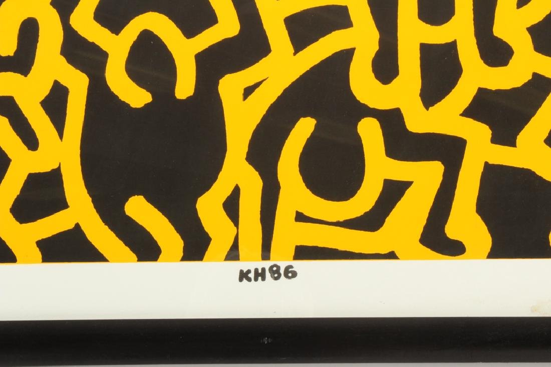 Keith Haring, Playboy, screen print poster - 6