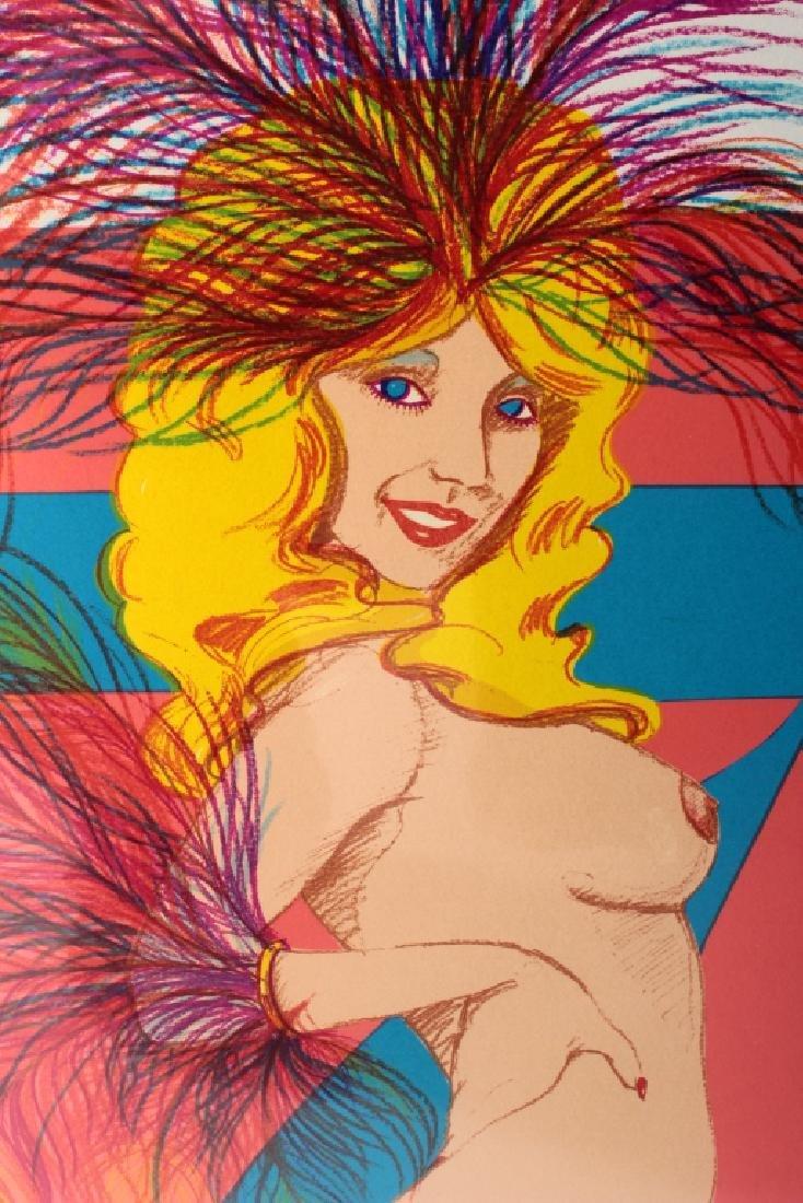 Bob Pardo, Am., 20th C., Two Silkscreen Prints