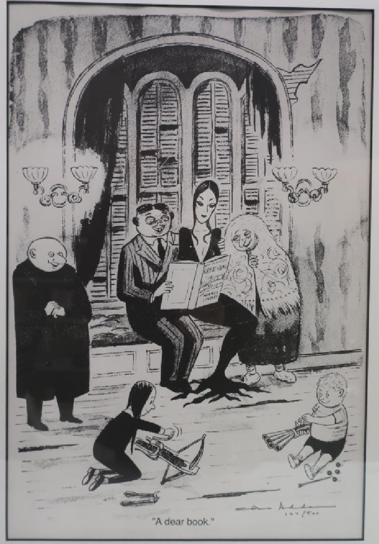 "Charles Addams,Am.1912-1988,""A Dear Book"",print"