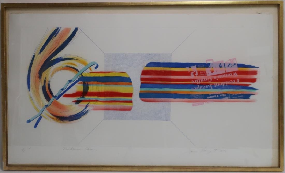 James Rosenquist, Am.,Windscreen Horizon, A/P