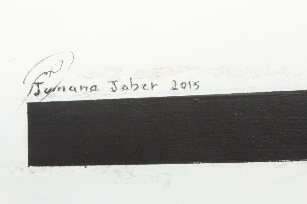"""Jumana Jaber, Syr., Contemp. """"Inheritance"""", M/M - 7"""