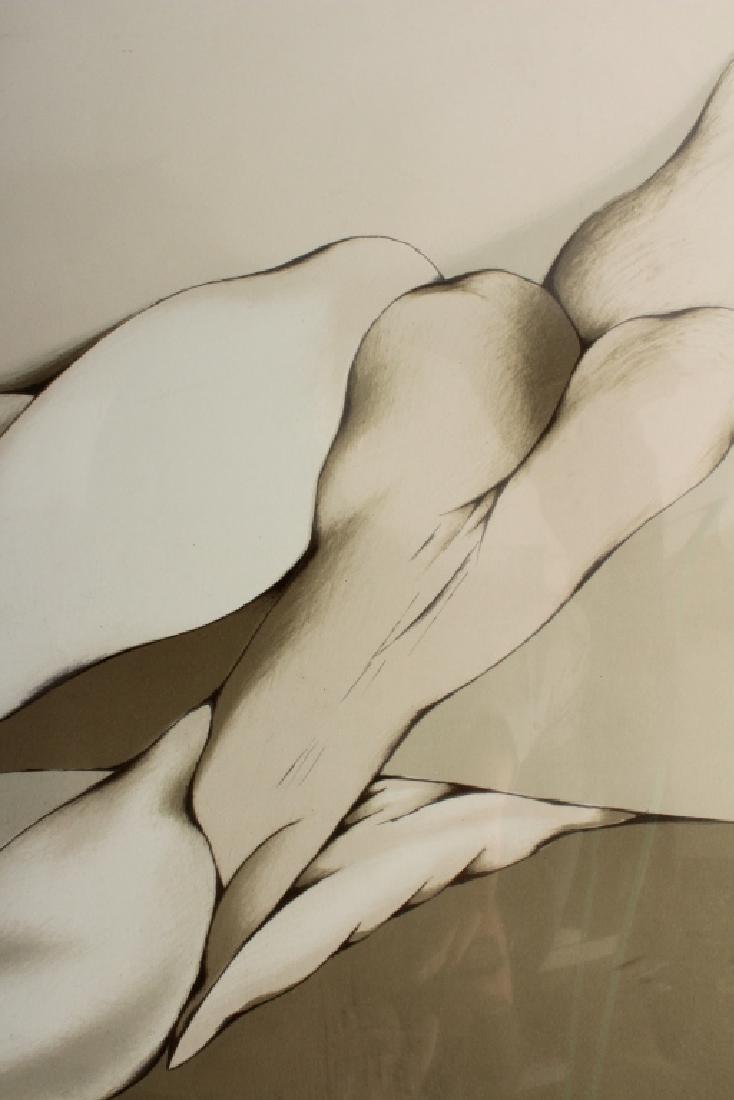 Mario Toral, Chilean, b. 1934, Three Lithographs