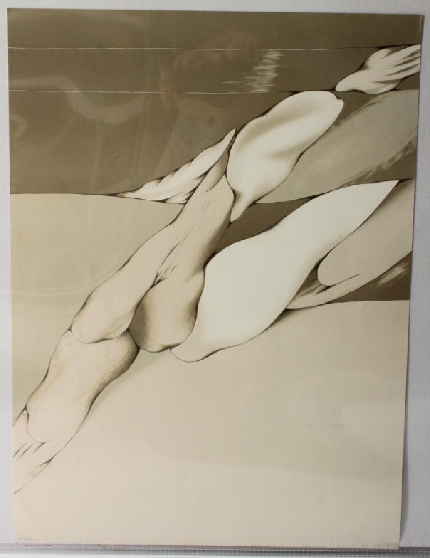Mario Toral, Chilean, b. 1934, Three Lithographs - 2