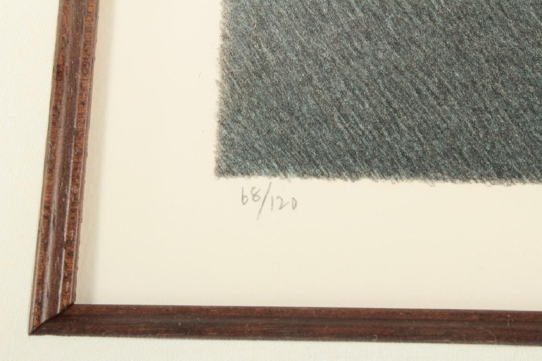 """Robert Kipness """"Green Green #502"""" Lithograph 1980s - 4"""